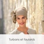 Turbans et foulards